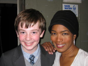 Jackson Murphy and Angela Bassett