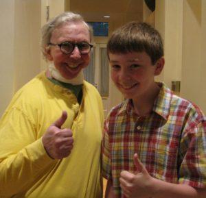 Jackson Murphy and Roger Ebert