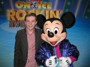 Jackson Murphy and Mickey Mouse