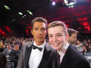 Jackson Murphy and Matthew McConaughey