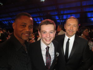 Cuba Gooding, Jr. and Kevin Spacey