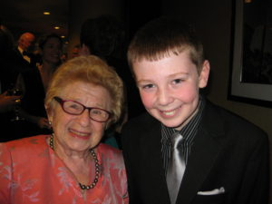 Jackson Murphy and Dr. Ruth