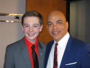 Jackson Murphy and Rickey Minor