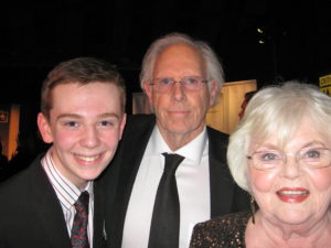 Jackson Murphy and Bruce Dern and June Squibb
