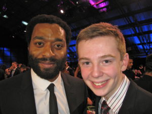 Jackson Murphy and Chiwetel Ejiofor