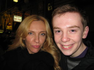 Jackson Murphy and Toni Collette