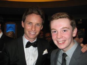 Jackson Murphy and Eddie Redmayne