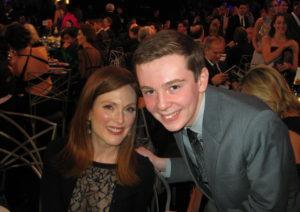 Jackson Murphy and Julianne Moore