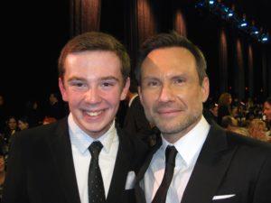Jackson Murphy and Christian Slater