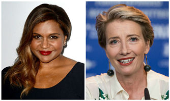 mindy kaling and emma thompson talk