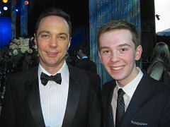 Jackson Murphy and Jim Parsons