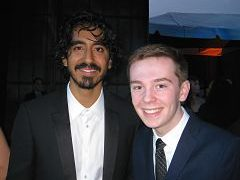 Jackson Murphy and Dev Patel