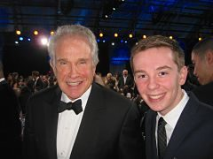 Jackson Murphy and Warren Beatty