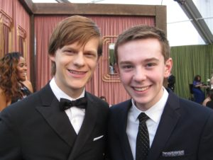 Jackson Murphy and Lucas Hedges