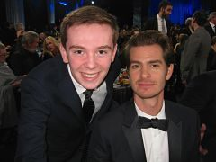 Jackson Murphy and Andrew Garfield