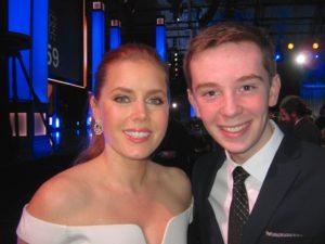 Jackson Murphy and Amy Adams