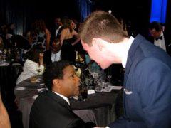 Jackson Murphy and Denzel Washington