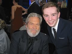 Jackson Murphy and Jeff Bridges