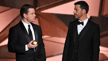 Jimmy Kimmel Matt Damon