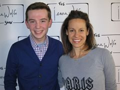 Jackson Murphy and Jenna Wolfe