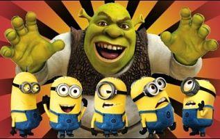 Shrek Minions
