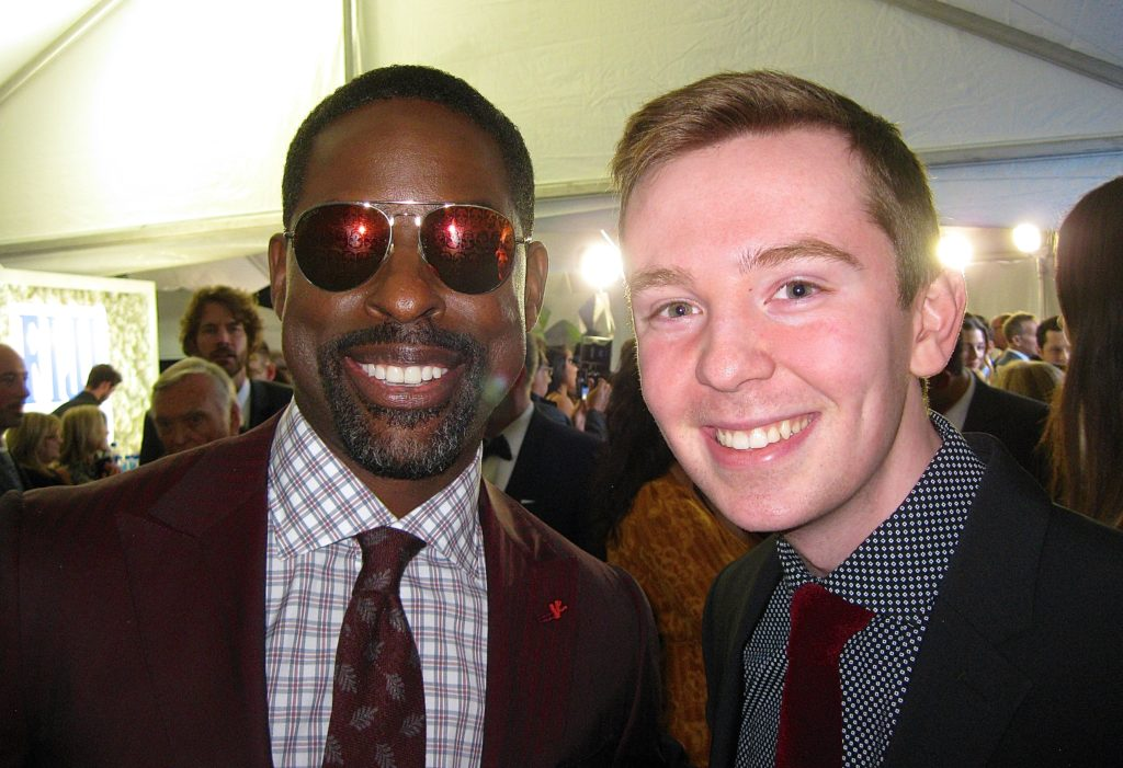 Sterling K. Brown and Jackson Murphy