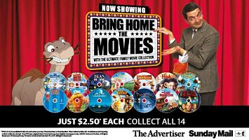 """Australia's """"Ultimate Family Movie Collection"""" - """"Meet LCJ"""""""