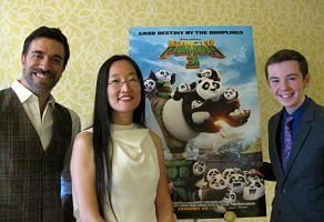 Guests: 'Kung Fu Panda 3' Directors Jennifer Yuh Nelson and Alessandro Carloni